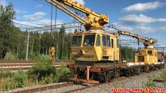 Мотовоз-дрезина МПТ-6 (2006 год) железнодорожная.