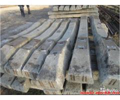 шпала бетонная  с крепежом