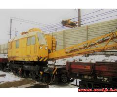 Продается ЖД Кран КЖ - 561, г/п 25тн, 1995 г. в., в рабочем состоянии, в СПб.