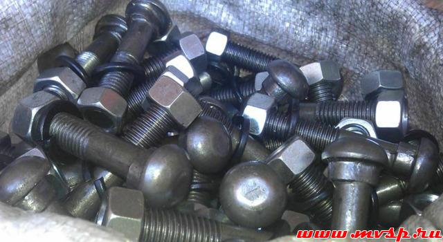 Болт стыковой М18х88 ГОСТ 8144-73 на складе.