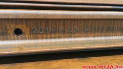 рельсы с хранения госрезерва Р65 Т1(термоупрочненная) 25 метров 2014-2015