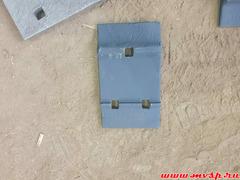 Подкладка Д43 восстановленная и покрашенная под новую ГОСТ 7056-77
