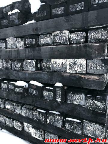 Шпала деревянная пропитанная креозотом с хранения, 1 и 2 тип ГОСТ 78-2004