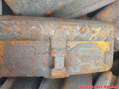 Колодка локомотивная гребневая чугунная тип М от 100 штук