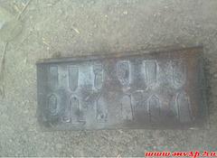 Колодка локомотивная безгребневая ГОСТ 30249-97