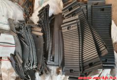 Комплект резины на стрелочный перевод проект 2768